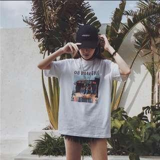 Oh darling oversized tee 🌈