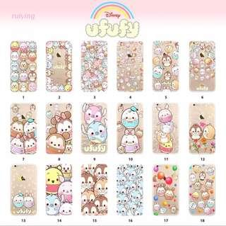 PRE-ORDER PH019 Disney Ufufy Character Soft Back Case