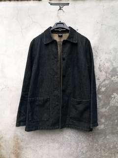 Uniqlo Work Denim Jacket / Chore Coat