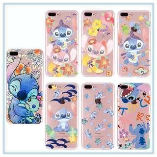 PRE-ORDER PH020 Disney stitch/TsumTsum Soft Back Case