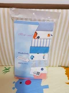 🚚 8 pcs Baby Face Cloths / Towel