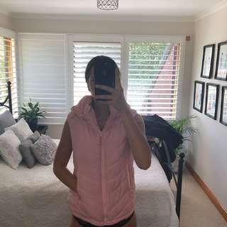 Pink cotton on body vest