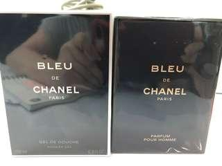 Chanel Perfume and shower gel