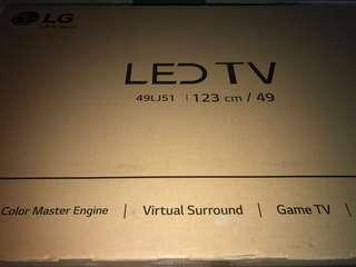 Tv Lg led 49inch brand new in box