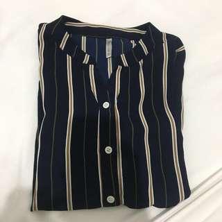 Dark Blue Button down shirt
