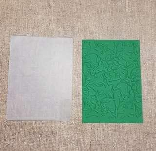 🚚 Branches Embossing Folder