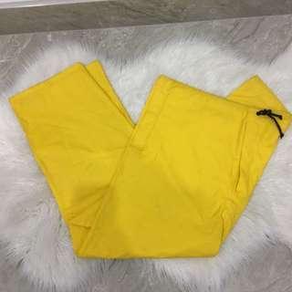 Yellow Rain Pant$