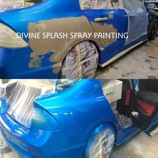 Car Spray Paint @ affordable rate