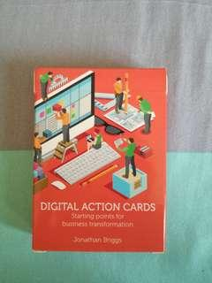 Digital Action Cards Deck signed by Jonathan Briggs