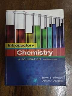🚚 Introductory Chemistry 原文化學課本#我要賣課本