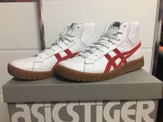 二手只著過一次AsicsTiger GEL-PTG MT 高筒波鞋,紅白配色,Slam dunk 三井鞋款
