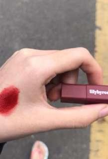 lilybyred mood liar velvet lip tint 06