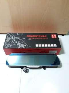 Car Mirror + digital screen + Video Recorder + GPS