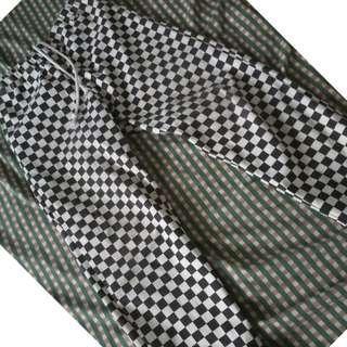 Checkerboard pants