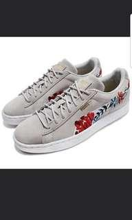 Puma Ltd Edition Suede Floral Sneakers