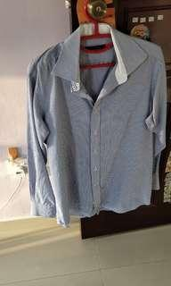 Clothes - Men long sleeve strip office wear *Relative new*
