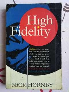 [Humorous: Adult Novel] HIGH FIDELITY by Nick Hornby