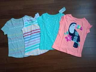 🚚 Carter's/ Old Navy Girls Shirts 4T