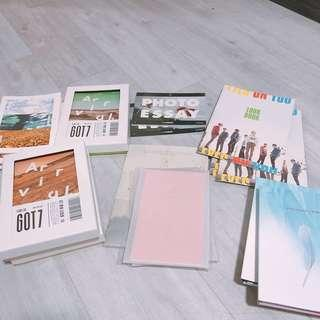WTS GOT7 Unsealed Albums (Cheap!!)