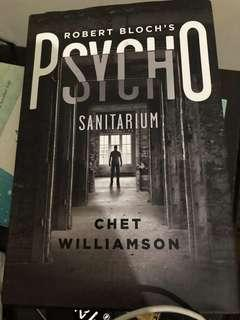 Psycho (hard bound) by Chet Williamson