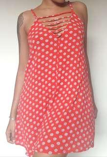 Factorie Red Floral Dress