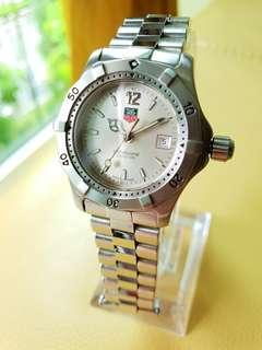 Tag Heuer Ladies Silver Dial Steel Quartz