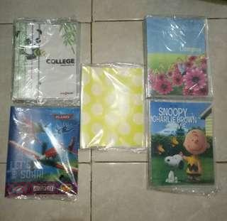 Binder Disney,  Kenko,  InterXFoldee,  Popsicle