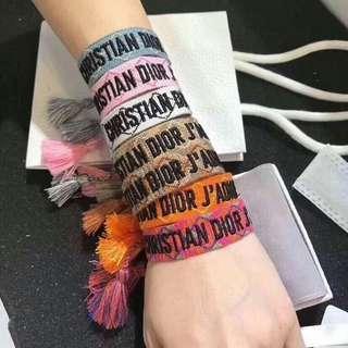DIOR bracelets
