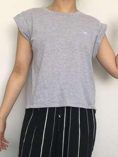 Lee boxy grey top