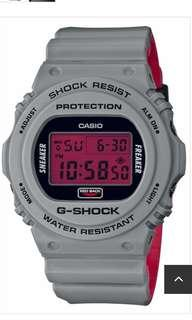 🚚 Gshock x stance x sneakerfreaker g-shock dw-5700sf-1c