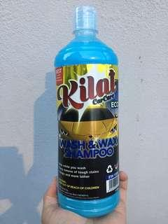 Car Shampoo and Wax (for metallic paint)