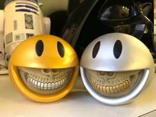 🚚 Smiley Grin (Gold & Silver) set