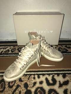 amanda jane's sneakers gold size 38