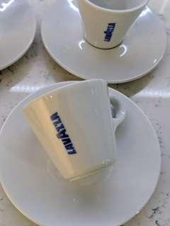 Lavazza Espresso Demitasse Cup and Saucer (5 sets)