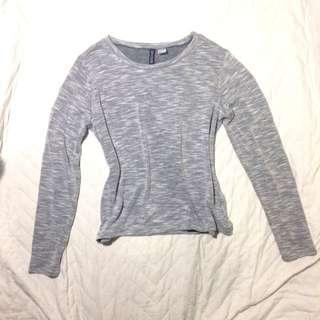 H&M grey sweater / pullover / longsleeve