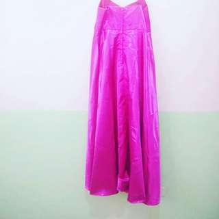 MATERNITY GOWN VIOLET