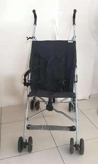 EUC Hauck lightweight stroller with carry on bag