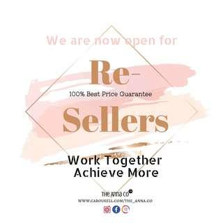 Resellers welcome