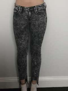 French connection skin tight jeans