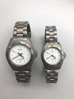 CASIO WATCH PAIR