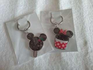 Mickey mouse minnie mouse Keychain