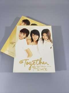 SHE Together best collection 新曲+精選 CD vcd