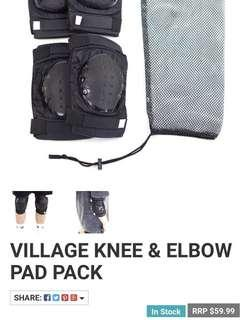 Village Knee and Elbow Pads