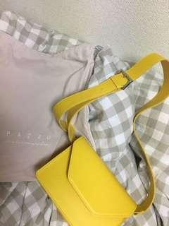 #pazzo檸檬黃包包
