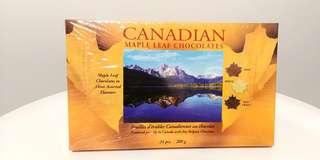 Canada Maple Leaf Chocolate 加拿大楓葉朱古力 新年 賀年 食品