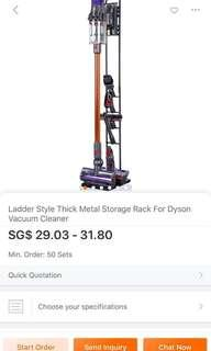 Dyson Vacuum Stand for V6, V7, V8, V10, Genuine BUBM Brand, Don't Buy Fakes