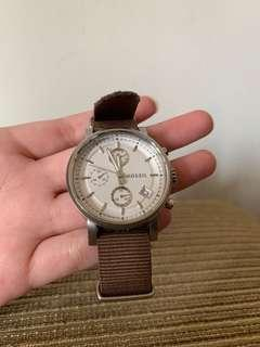 Fossil Cream Watch