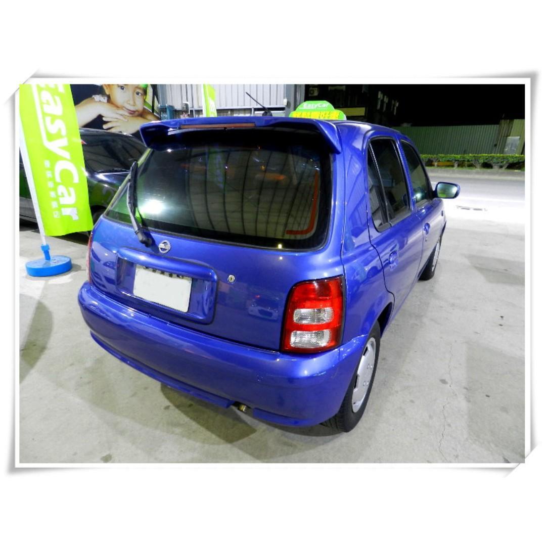 2005年 日產 march 藍色 1.3 車在桃園 代步車 小車五門掀背車