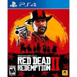 🚚 PS4 Game Red Dead Redemption 2 (New)