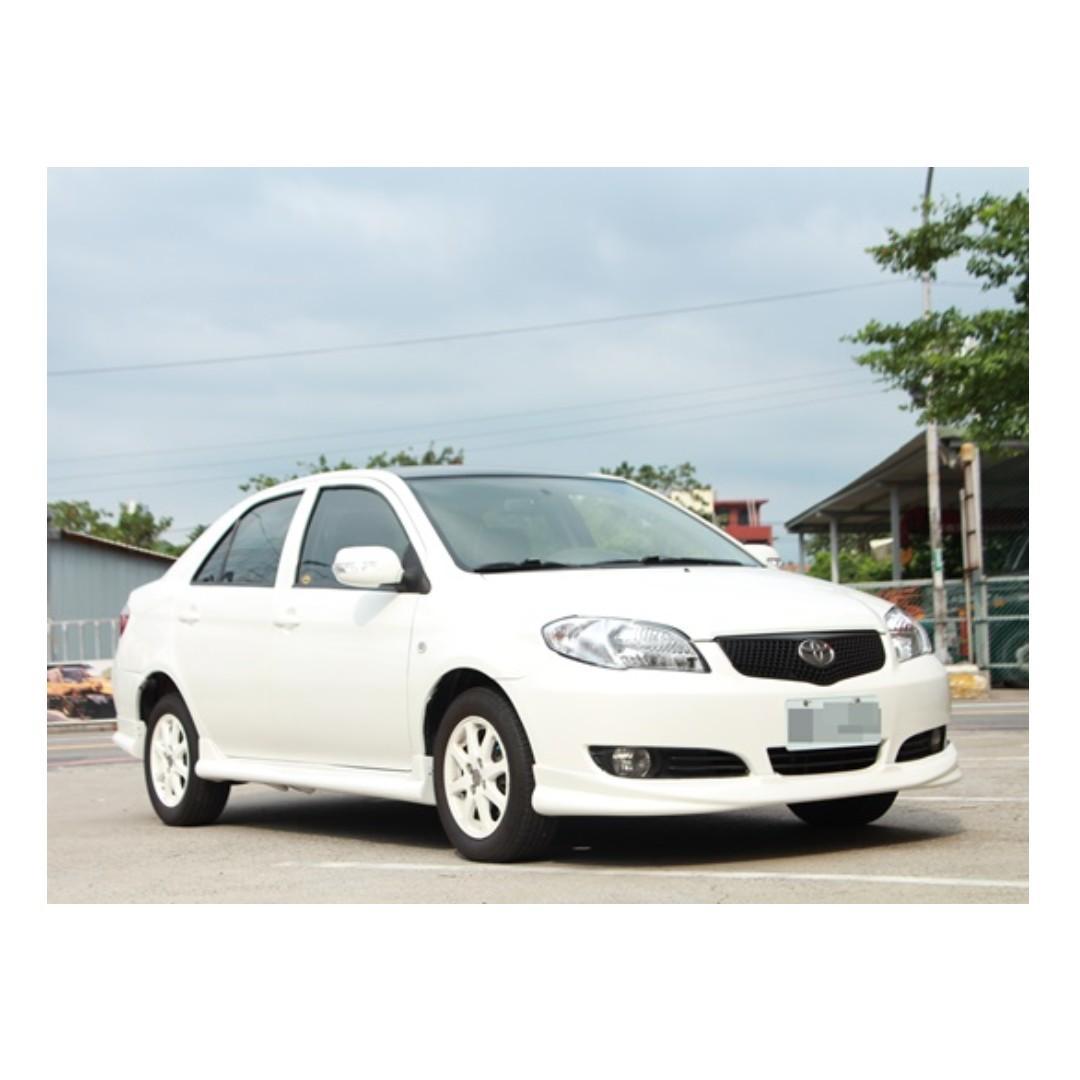 2007 Toyota Vios 1.5 白 FB搜尋 : 『阿文の圓夢車坊』